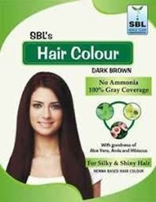 Picture of SBL Hair Colour 12 Sachets Dark Brown