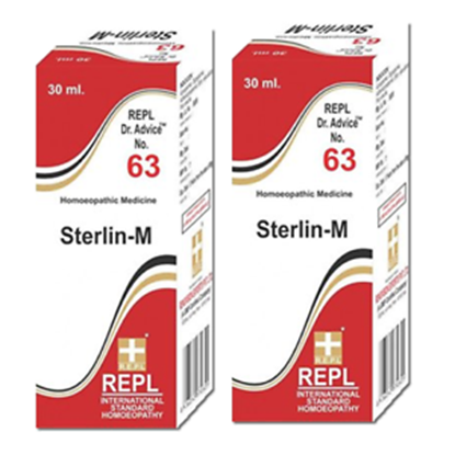 Picture of REPL Dr. Advice No.63 Sterlin-M Drop