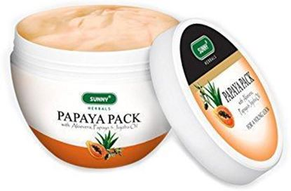 Picture of BAKSON'S Papaya Pack with Aloevera and Papaya Jojoba Oil