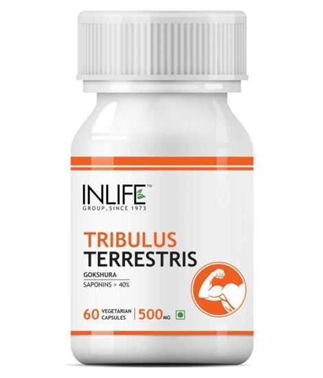 Picture of Inlife Tribulus Terrestris Extract 500mg Capsule