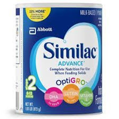 Picture of Similac Advance Infant Formula Stage 1