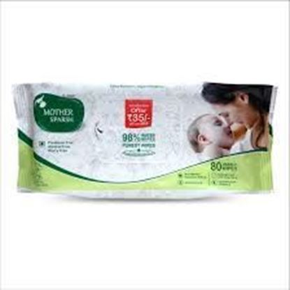 Picture of Mother Sparsh Baby Water Wipes