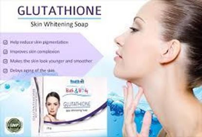 Picture of HealthVit Bath & Body Glutathione Soap