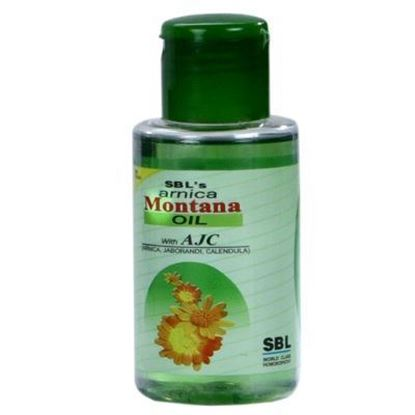Picture of SBL Arnica Montana Hair Oil with Tjc