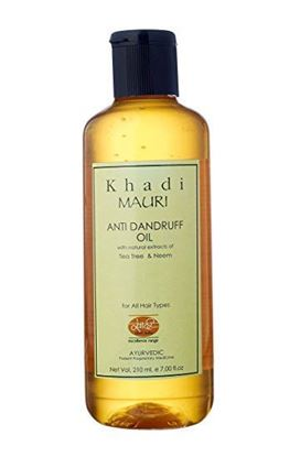 Picture of Khadi Mauri Herbal Anti Dandruff Oil