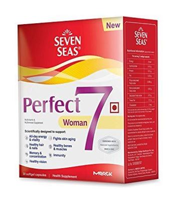 Picture of Seven Seas Perfect7 Woman - Multivitamin & Multimineral Supplement