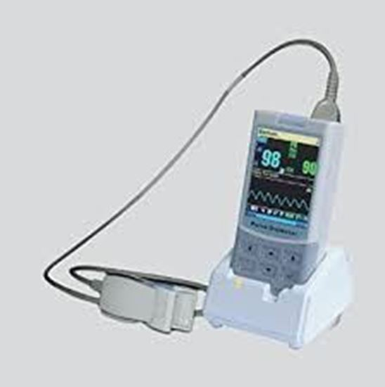 Picture of ChoiceMMed MD300M Handheld Large Screen Colour Pulse Oximeter
