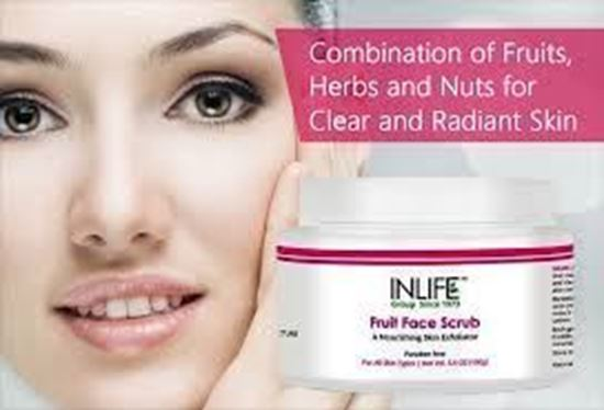Picture of Inlife Fruit Face Scrub