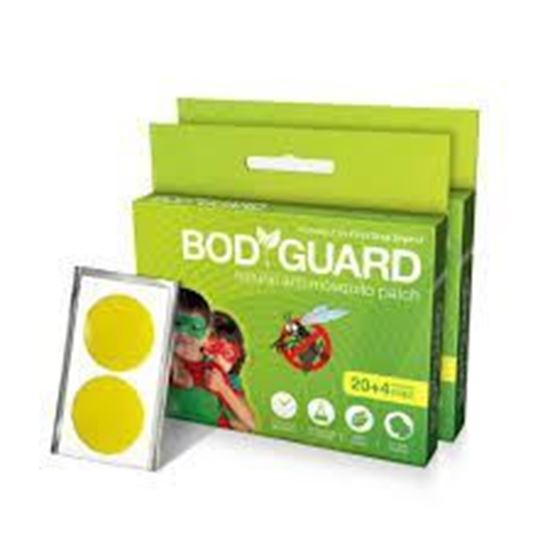 Picture of Bodyguard Natural Anti-Mosquito Patch Pack of 2