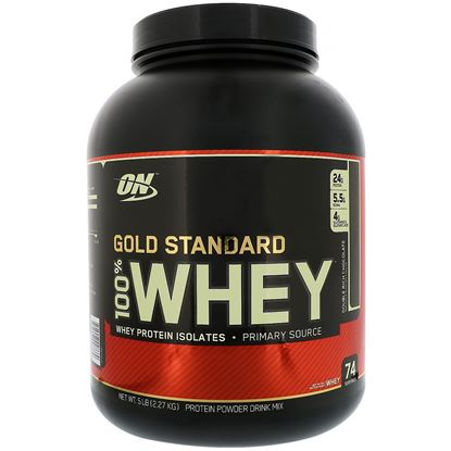 Picture of Optimum Nutrition (ON) Gold Standard 100% Whey Double Rich Chocolate