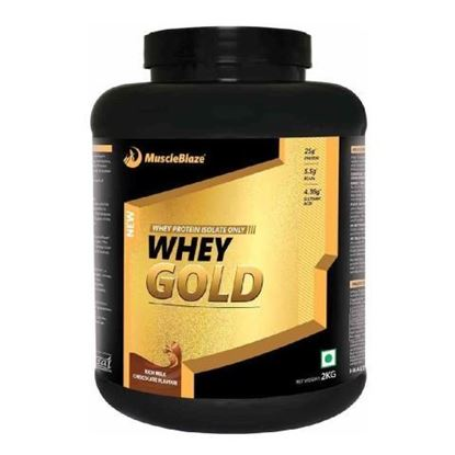 Picture of MuscleBlaze Whey Gold Rich Milk Chocolate