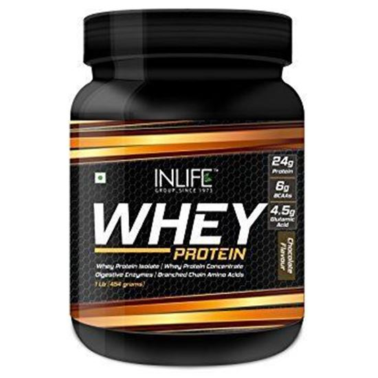 Picture of Inlife Whey Protein Powder Chocolate