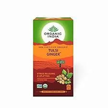 Picture of Organic India Tulsi Ginger Tea