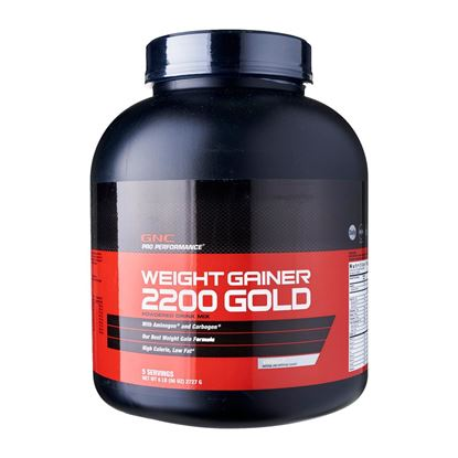 Picture of GNC Weight Gainer 2200 Gold Powder Vanilla