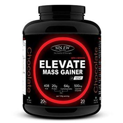 Picture of Sinew Nutrition Elevate Mass Gainer Chocolate