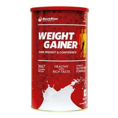 Picture of MuscleBlaze Weight Gainer Chocolate