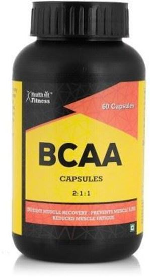 Picture of HealthVit BCAA 2:1:1 1000mg Capsule
