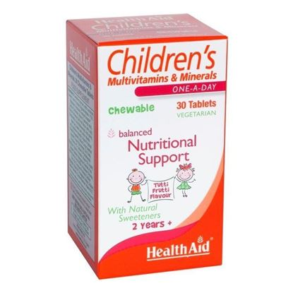 Picture of Healthaid Childrens Multivitamins & Minerals Chewable Tablet Tutti Frutti