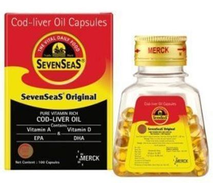 Picture of Seven Seas Original Cod Liver Oil Capsule