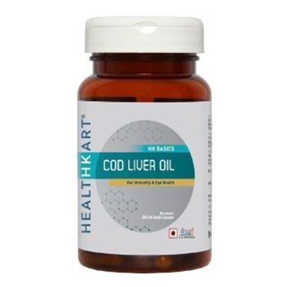 Picture of HealthKart Cod Liver Oil Capsule