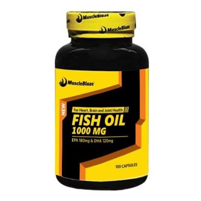 Picture of MuscleBlaze Fish Oil Soft Gelatin Capsule