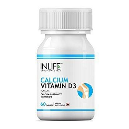 Picture of Inlife Calcium Vitamin D3 Tablet