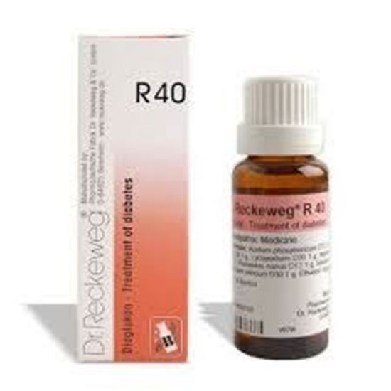 Picture of Dr. Reckeweg R40 (Diaglukon) (22ml)