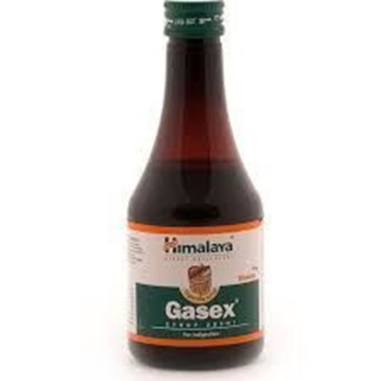 Picture of Himalaya Gasex Syrup (Lemon, Ginger) (200ml)