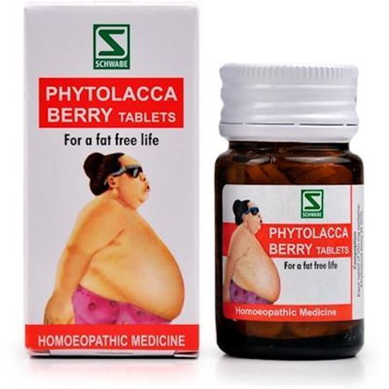 Picture of Willmar Schwabe India Phytolacca Berry Tablets