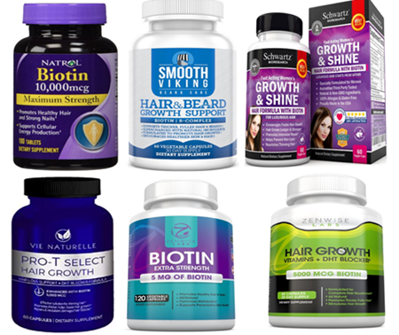 Picture for category Hair Growth Supplements