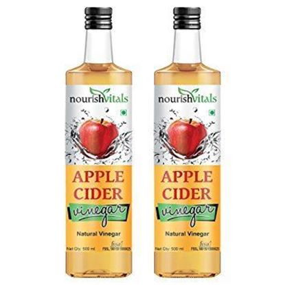Picture of NourishVitals Apple Cider Natural Vinegar Pack of 2