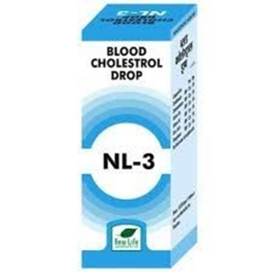 Picture of New Life NL-3 (Blood Cholesterol Drops)
