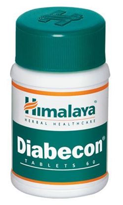 Picture of Himalaya Diabecom Tablet