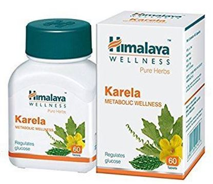 Picture of Himalaya Wellness Pure Herbs Karela Metabolic Wellness Tablet