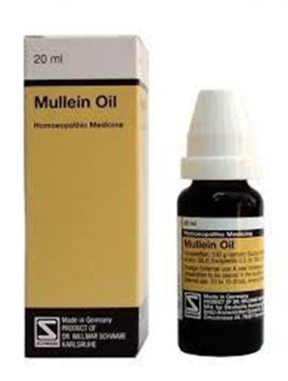 Picture of Willmar Schwabe Germany Mullein Oil