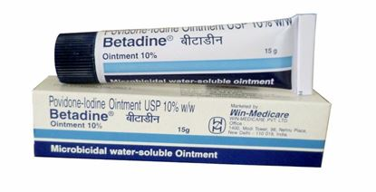 Picture of Betadine 10% Ointment