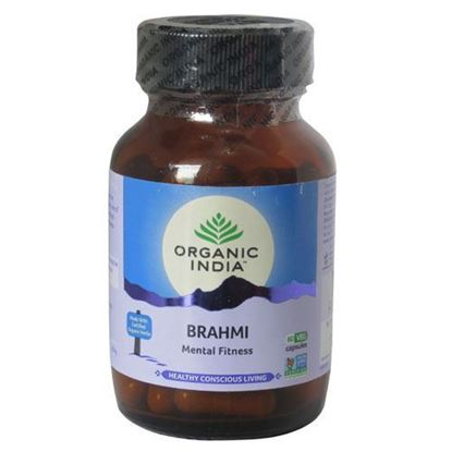Picture of Organic India Brahmi Capsules