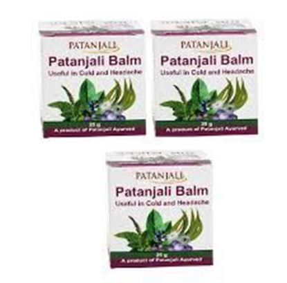 Picture of Patanjali Ayurveda Balm Pack of 3