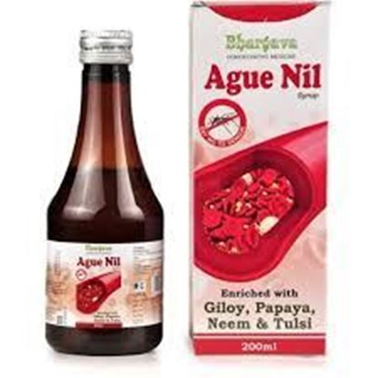 Picture of Dr. Bhargava Ague Nil Syrup with Giloy, Papaya, Neem and Tulsi