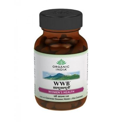 Picture of Organic India WWB (Womens Well Being) Capsules