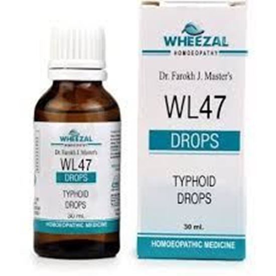 Picture of Wheezal WL-47 Typhoid Drops