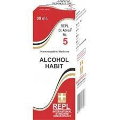 Picture of REPL Dr. Advice No 5 (Alcohol Habit) (30ml)