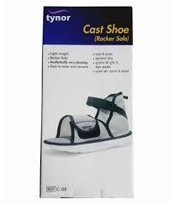 Picture of Tynor Cast Shoe (Rocker Sole) (XL)