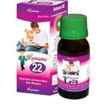 Picture of Bioforce Blooume 22 (Memorisan) Drops (30ml)