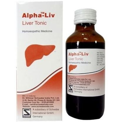 Picture of Willmar Schwabe India Alpha Liv (Liver Tonic)