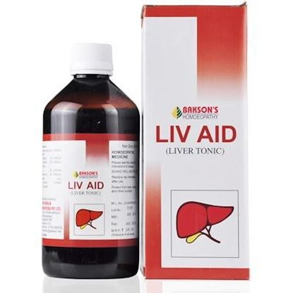 Picture of Bakson Liv Aid Syrup