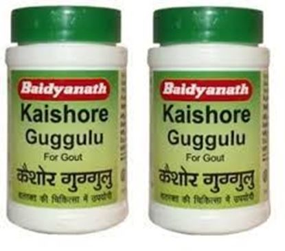 Picture of Baidyanath Kaishore Guggulu Tablet Pack of 2