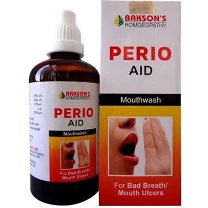 Picture of Bakson Perio Aid (Mouth Wash)