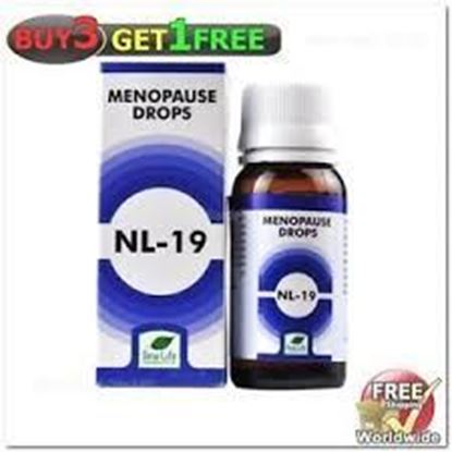 Picture of New Life NL-19 (Menopause Drops) (30ml)