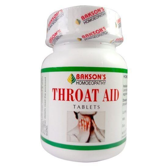 Picture of Bakson Throat Aid Tablets